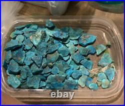 100 Grams Sleeping Beauty Turquoise Nugget Lot Rough Unpolished Lapidary Tumble