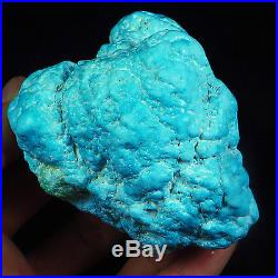 1513.2CT 100% Natural Sleeping Beauty Turquoise Brain Nugget Intact Speci YSTc39
