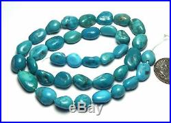 16 Strand SLEEPING BEAUTY TURQUOISE 10-15mm Nugget Beads /n15