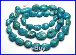 16 Strand SLEEPING BEAUTY TURQUOISE 9-16mm Nugget Beads /n18