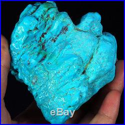 1682.7CT 100% Natural Sleeping Beauty Turquoise Brain Nugget Intact Speci YSTc72