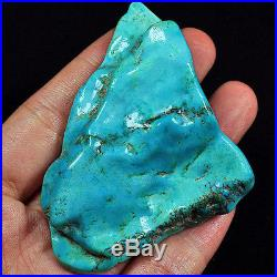 266.5CT 100% Natural Sleeping Beauty Turquoise Brain Nugget Intact Speci YSTc89