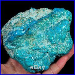 2889.5CT 100% Natural Sleeping Beauty Turquoise Brain Nugget Intact Speci YSTc84