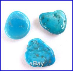 3 LG Sleeping Beauty Turquoise Nugget 100% NATURAL AAA+++ HIGH-GRADE CLOSED MINE