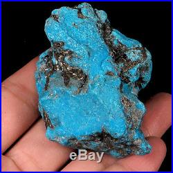 356.1CT 100% Natural Sleeping Beauty Turquoise Facet Rough Specimen YSTb393