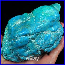 3999.5CT 100% Natural Sleeping Beauty Turquoise Brain Nugget Intact Speci YSTc82