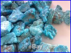 462 grams AAA Natural Sleeping Beauty Turquoise, Rough Nuggets/Plates NICE Vein