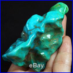 516.5CT 100% Natural Sleeping Beauty Turquoise Material Rough Specimen YSTa4