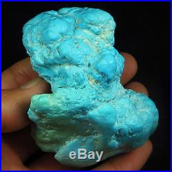 933.35CT 100% Natural Sleeping Beauty Turquoise Brain Nugget Intact Speci YSTc51