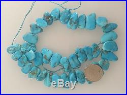 95 Grams Natural Sleeping Beauty Turquoise Necklace