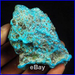 979.55CT 100% Natural Sleeping Beauty Turquoise Brain Nugget Intact Speci YSTc50