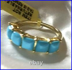 AAA Arizona Sleeping Beauty Turquoise Ring In Sterling Silver, Size
