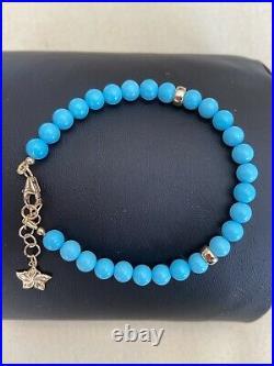 Bohème Natural Sleeping Beauty Turquoise Swirl Star Bracelet