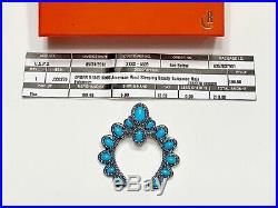CAROLYN POLLACK American West Sleeping Beauty Turquoise Naja Enhancer NWT