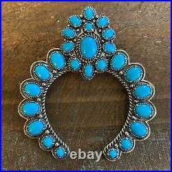 Carolyn Pollack American West Sleeping Beauty Turquoise Naja Enhancer