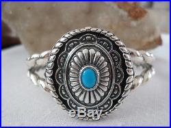 Carolyn Pollack Sterling SLEEPING BEAUTY Turquoise Interchangeable Bracelet