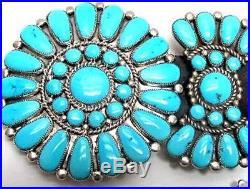 Ceremonial Blue Ribbon Winner, Diane Lonjose Sleeping Beauty Turquoise Belt