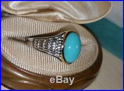Chuck clemency NYCII yellow gold-sterling silver Sleeping Beauty Turquoise ring