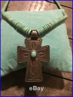 DON LUCASSleeping Beauty Turquoise18Charm Crosses/Pendant925 Necklace20