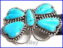 Diane Lonjose, Silver with Sleeping Beauty Turquoise Butterfly Belt