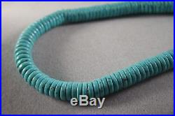 Dtr Jay King Mine Finds Dtr Sleeping Beauty Turquoise Heishi Bead Necklace