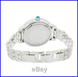 Ecclissi Sleeping Beauty Turquoise Sterling Silver 7-1/2 Watch Qvc $269