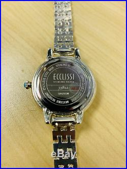 Ecclissi Sleeping Beauty Turquoise Sterling Silver 7 Adjustable Watch Qvc $269