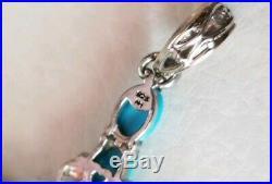 Gems En Vogue Michael valitutti Sterling silver sleeping beauty 3 Cross pendant
