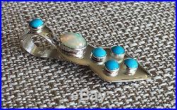 JAY KING Ethiopian Opal & Sleeping Beauty Turquoise Enhancer Pendant, Sterling