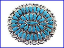 Justin, Saraphina Wilson, Pin Pendant, Sleeping Beauty Turquoise