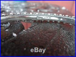 LEO FEENEY Gaspeite & Turquoise Cuff Bracelet 0.925 Sterling Sleeping Beauty