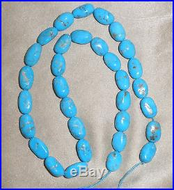Large Sleeping Beauty Turquoise Nugget Beads Blue 18 Strand 5x9x16mm Lot 45