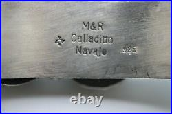 M&r Calladito Navajo Cuff Bracelet, Sleeping Beauty Turquoise, Sterling, Signed