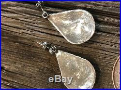 Navajo RARE GEM Sleeping Beauty Turquoise Sterling Silver Post Earrings