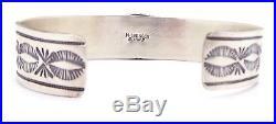 Navajo Sterling Silver High-grade Sleeping Beauty Bracelet Mary Ann Spencer