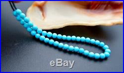 RARE GEM SLEEPING BEAUTY TURQUOISE UNTREATED FINE BEADS! 5.15 8.55cts