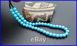 RARE GEM SLEEPING BEAUTY TURQUOISE UNTREATED FINE BEADS! 5.15 9.95cts