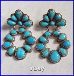 Rocki Gorman Sleeping Beauty Turquoise Chandelier Earrings EXQUISITE