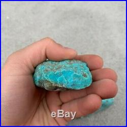 SLEEPING BEAUTY TURQUOISE ROUGH 220 Grams, VERY HIGH QUALITY (Exact Lot 126)