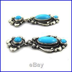 SLEEPING BEAUTY Turquoise Earrings by Ray Bennett