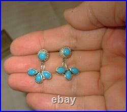 Sleeping Beauty Earth-mined Turquoise Earrings & Jackets Samuel B. Samuel Benum