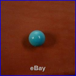 Sleeping Beauty Natural Turquoise Bead 15.5 mm