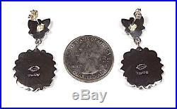 Sleeping Beauty Turquoise 925 Sterling Silver Post Southwestern Style Earrings