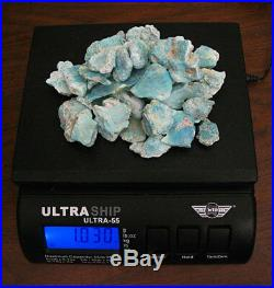 Sleeping Beauty Turquoise Estate 1lb Rough Lot Mine Closed! $1k Retail Price