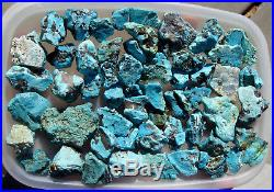 Sleeping Beauty Turquoise Natural Rough High Quality 455 Grams 1LB Large Nuggets