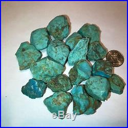 Sleeping Beauty Turquoise Nuggets Rough 1/2 Pound Lots Very High Quality