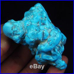 WOW Rarest HUGE 455CT 100% Natural Sleeping Beauty Turquoise Rough -MUSEUM Grade