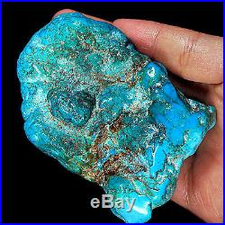 WOW Rarest HUGE 800CT 100% Natural Sleeping Beauty Turquoise Rough -MUSEUM Grade