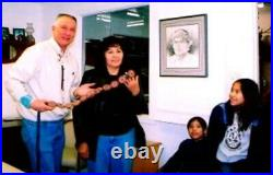 Zuni Lorraine WAATSA Earrings 80s CLUSTER Sleeping Beauty TURQUOISE Signed Fab