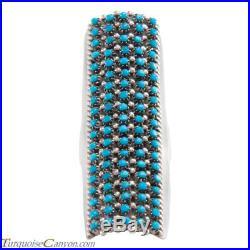 Zuni Native American Sleeping Beauty Turquoise Ring Size 7 by Haloo SKU#226203